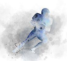 American Footballer 1 by Marlene Watson