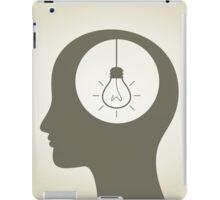 Idea in a head iPad Case/Skin