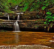 Terrace Falls #3 by VanceRoyce