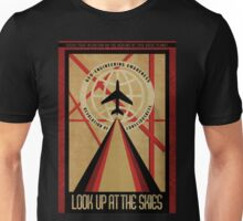 Look Up At The Skies | Revolution of Consciousness Poster Unisex T-Shirt