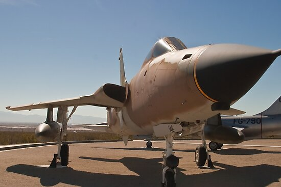F-105D Thunderchief by Henry Plumley