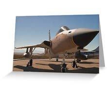 F-105D Thunderchief Greeting Card