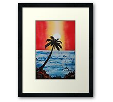 Curtain Of Nature Framed Print
