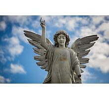 an angel at my table Photographic Print