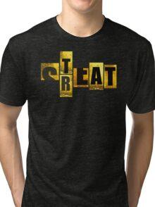 STREAT yellow mash-up Tri-blend T-Shirt