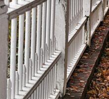 White Picket Fence Sticker