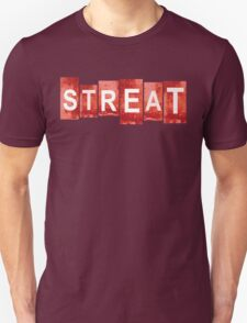 STREAT red mash-up T-Shirt