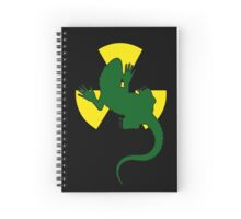 Radioactive Gecko Spiral Notebook
