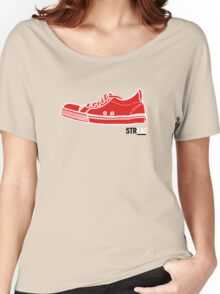 STREAT red sneaker Women's Relaxed Fit T-Shirt
