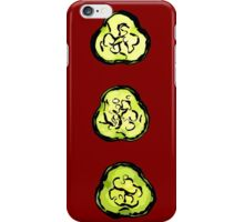 Abstract cucumber iPhone Case/Skin