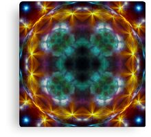 Galactic Lens Canvas Print