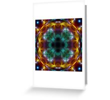 Galactic Lens Greeting Card