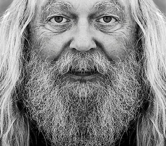 The old man by Christian  Zammit