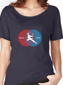 Disabilities with Attitude Women's Relaxed Fit T-Shirt