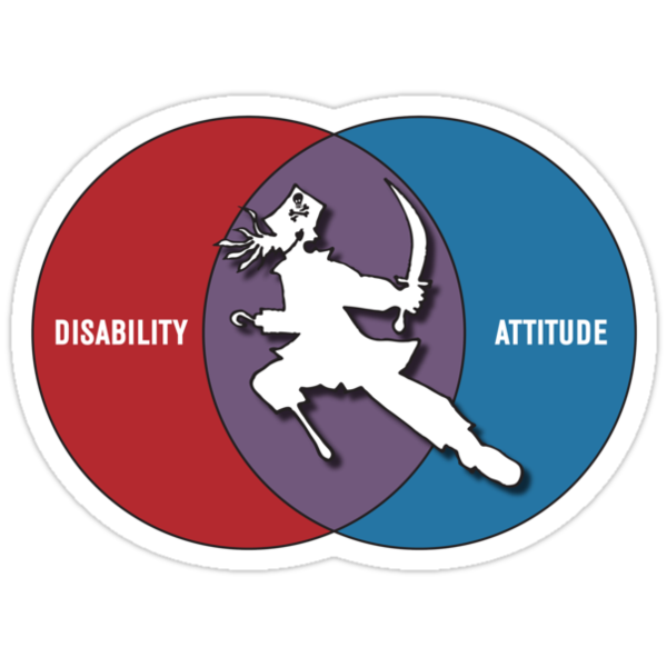 Disabilities with Attitude by actualchad