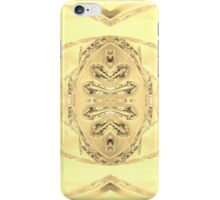 Glass Print Amber iPhone Case/Skin