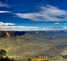 Jamison Valley | The Blue Mountains | Australia by DavidIori