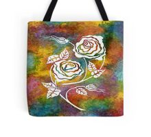 White Roses - A statement piece Tote Bag