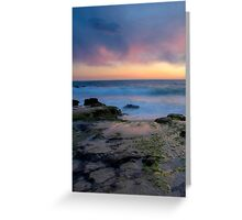 Coast Sunset Greeting Card