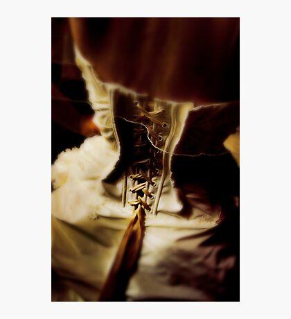 corset dress Photographic Print