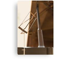 music stand Canvas Print