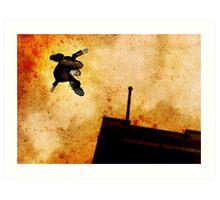 Brother Hazard Hunts In The City Art Print