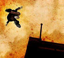 Brother Hazard Hunts In The City by matthewdunnart