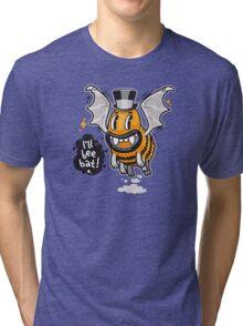 Cartoon Monster I'll Bee Bat Tri-blend T-Shirt