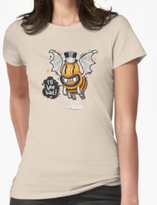 Cartoon Monster I'll Bee Bat Womens Fitted T-Shirt