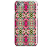 Pink Floral Fusion Kaleidoscope  iPhone Case/Skin