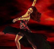 Flamenco Dancer by Shanina Conway