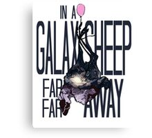 In a Galaxsheep... Canvas Print
