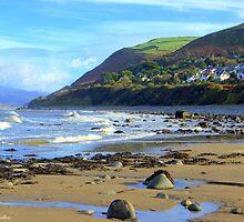 Llwyngwril Beach by angel1978