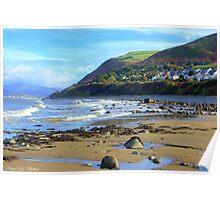 Llwyngwril Beach Poster