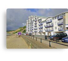 New Flats Overlooking Sandown Esplanade Canvas Print
