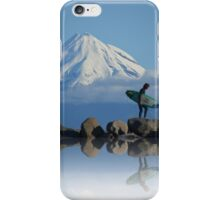 Taranaki Surfer iPhone Case/Skin