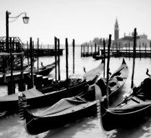 Gondolas by Cornelia Schulz