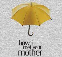 Yellow Umbrella. How I Met Your Mother. Kids Tee