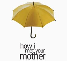 Yellow Umbrella. How I Met Your Mother. Kids Clothes