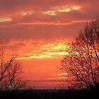 Dayton's Dawn sky by MistyAdkins