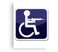 Handicap Icon Canvas Print