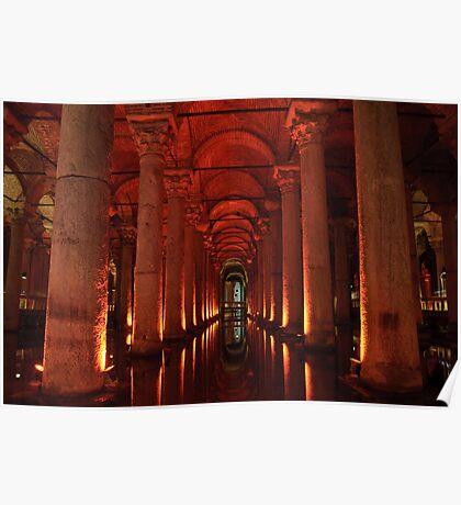 Basilica Cistern, Instanbul Poster