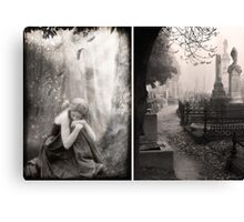 The End of All Hope - Diptych Canvas Print