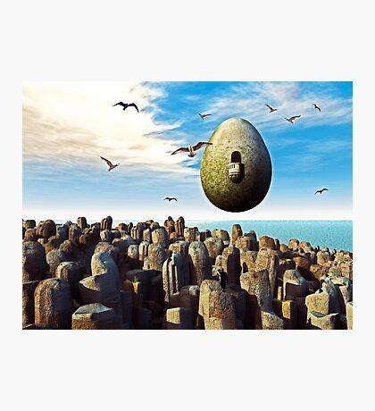 Cosmic Egg Photographic Print