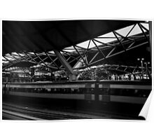 southern cross station,melbourne Poster