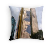 The Gold Building, Brisbane Throw Pillow