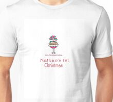 Silly Christmas Pudding Unisex T-Shirt