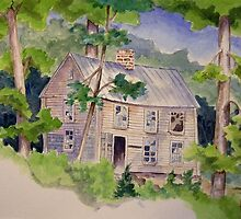 Unwelcome Visitor (Watercolor version) by BobHenry