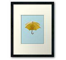 Sweet Rain Time. Framed Print