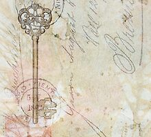 Romantic Vintage Key by Circe Lucas